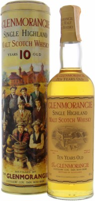 Glenmorangie - Ten Cooper Backlabel 40% NV