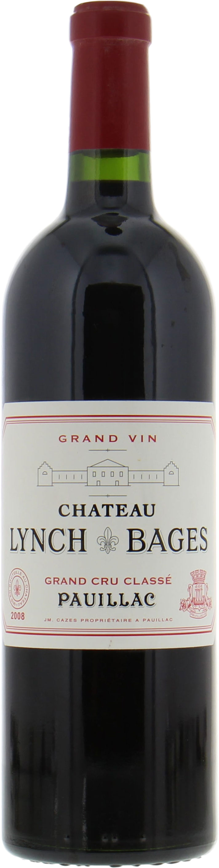 Chateau Lynch Bages - Chateau Lynch Bages 2008
