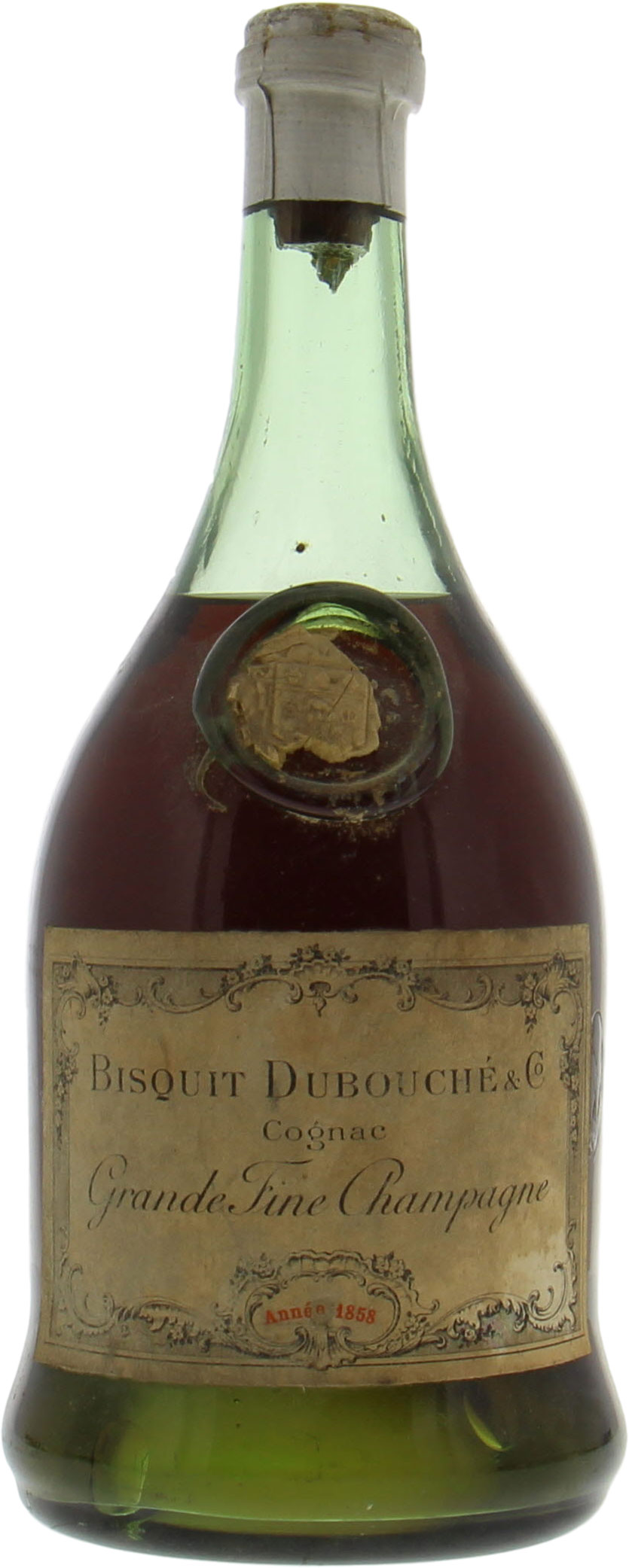 Image of Bisquit Dubouche Co Cognac Grande Fine Champagne