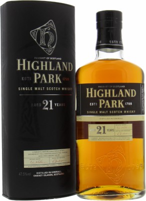 Highland Park - 21 Years Old 47.5% NV