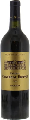 Chateau Cantenac Brown - Chateau Cantenac Brown 2005