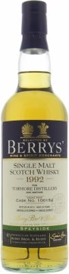 Tormore - 20 Years Old Berry Bros & Rudd Cask:100152 51.5% 1992
