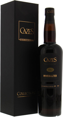 Domaine Cazes - VDN Rivesaltes Collection Cazes 1962