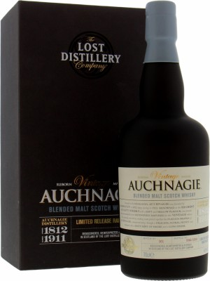 Auchnagie - vintage The Lost Distillery Company Batch 1 46% NAS