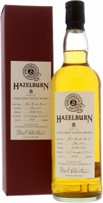 8 Years Old Springbank Society Bottling 55.7%Hazelburn -