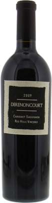 Derenoncourt  - Red Hills Lake County Red Hills Vineyard 2009