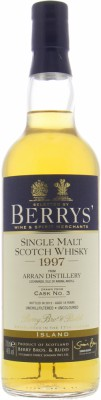 Arran - 16 Years Old Berry's Marsala Cask Finish Cask 3  46% 1997