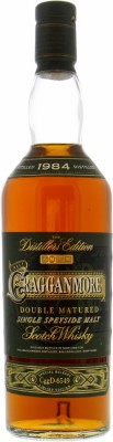 Cragganmore -  Distillers Edition 2014 40% 2001