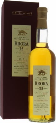 13th release 35 years old Limited Edition 48.6%Brora -