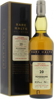 20 Years Old Rare Malts Selection 62.3%