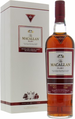 Ruby 1824 Series 43%Macallan -