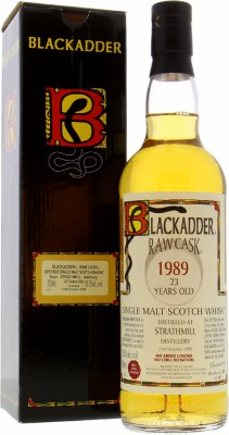 Strathmill 23 Years Old Blackadder Raw Cask: 10308 1 Of 305 Botlles 53.3%Strathmill -