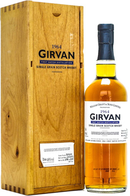 37 Years Grain Whisky Old 48%Girvan -