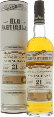 Springbank - 21 Years Old Douglas Laing's Old Particular Cask DL10527 51.4% 1993