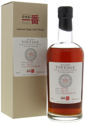 Karuizawa - 42 Years Old Vintage Cask 8183 For Number One Drinks 61,3% 1969
