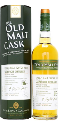 16 Years Old Malt Cask 10222 50%Glenburgie -