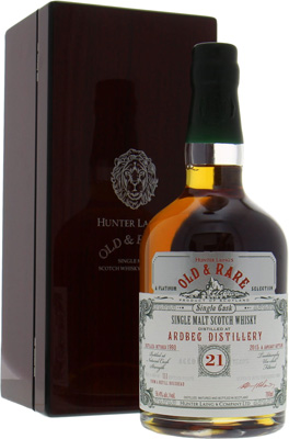 Ardbeg - 21 Years Old & Rare Platinum Selection 56.4%  1993