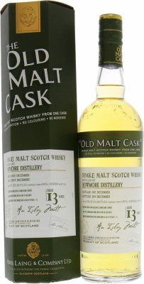 Bowmore - 13 years Old Malt Cask HL11155 50%  2001