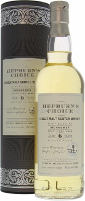 6 Years Old Hepburn's Choice 46%Inchgower -