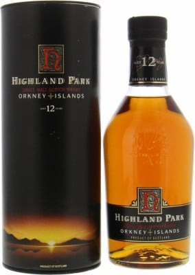Highland Park - 12 Years Old Dumpy Bottle 43% NV