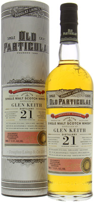 Glen Keith - 21 Years Old Douglas Laing Old Particular Cask:DL10793 51.5% 1993