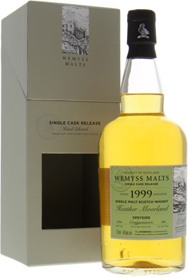 Wemyss Malts Heather Moorland 1 Of 390 Bottles 46%Cragganmore -