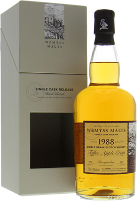 Wemyss Malts Toffee Apple Crisp 46%Invergordon -
