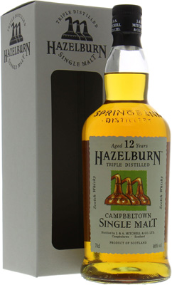 12 Years Old 46% Hazelburn -