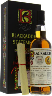 20 Years Old Celebration 20 Years of Blackadder Raw Cask:692 57,6%