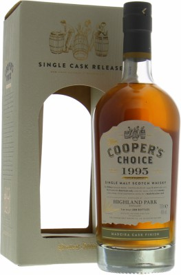 Highland Park - 18 Years Old Cooper's Choice Cask 9549 46%  1995