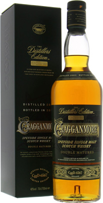 Distillers Edition 2015 Bottlecode: CggD-6567 40%Cragganmore -