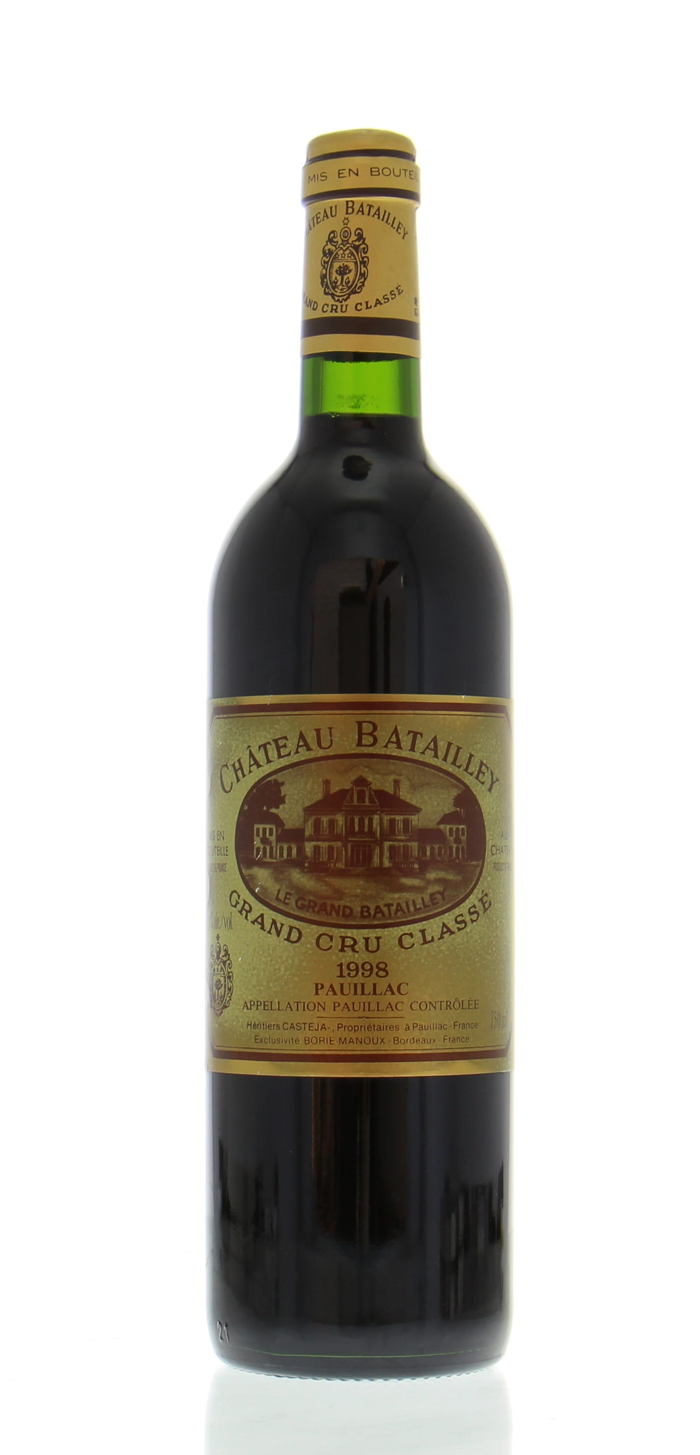 Chateau Batailley - Chateau Batailley 1998